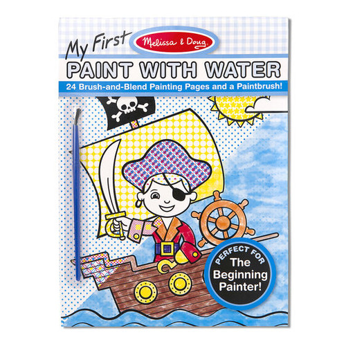 Pirates & Space Paint with Water