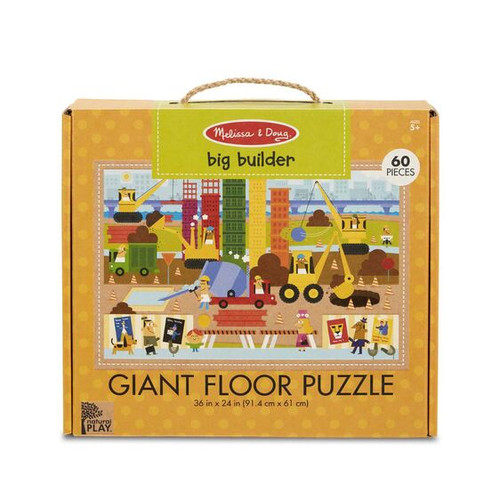 Big Builder Floor Puzzle Green Start