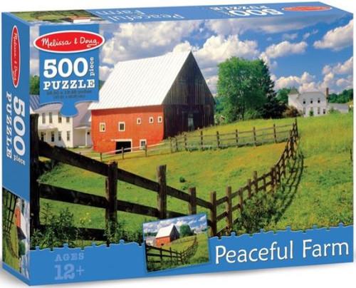 Peaceful Farm 500pc