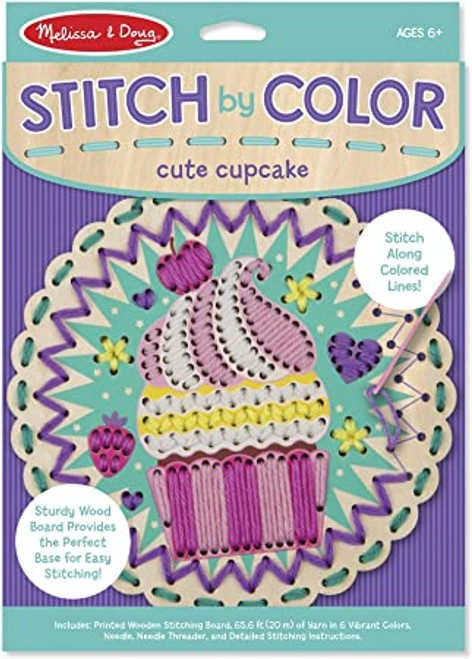 Cute Cupcakes Stitch By Color