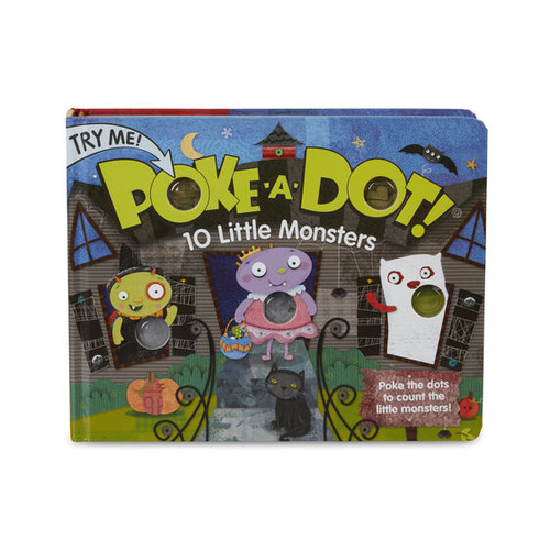 10 Little Monsters Poke-A-Dot Book
