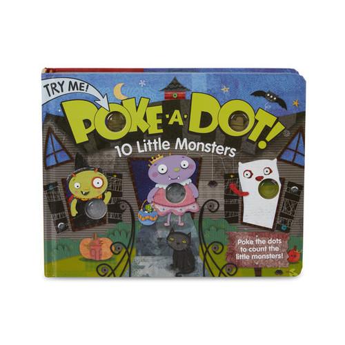 10 Little Monsters Poke-A-Dot Book
