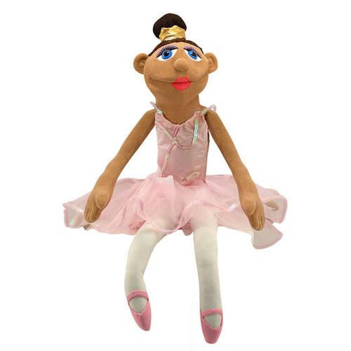 Ballerina hand puppet (box)