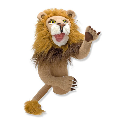 Lion hand puppet (box)