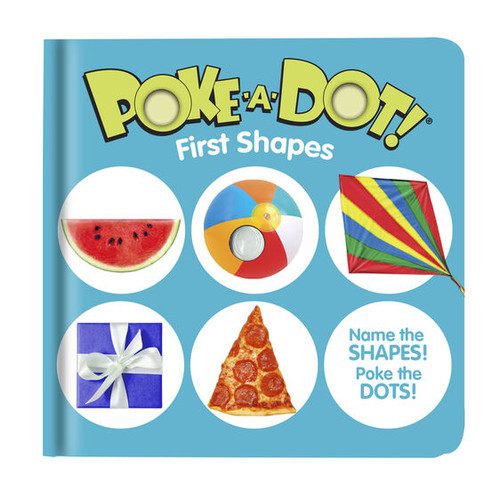 First Shapes Poke-A-Dot Book