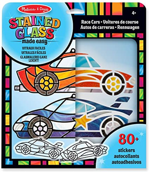 Race Cars Stained Glass Made Easy