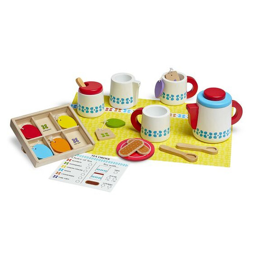 Steep and Serve Tea Set Let's Play House