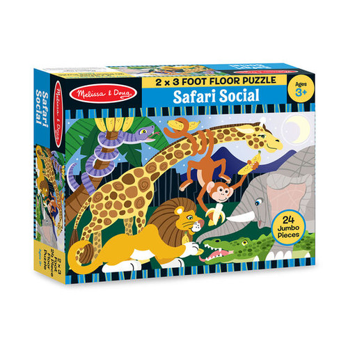 Safari Social Floor Puzzle