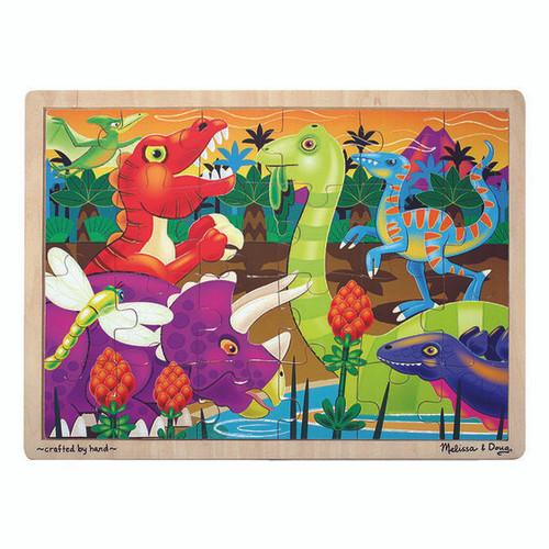Dinosaur wooden 24pc