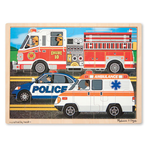 To The Rescue! wooden 24pc