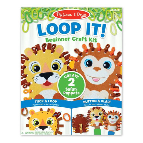 Loop It! Safari Puppets (