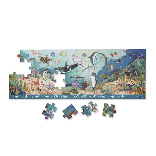 Beneath the Waves Floor Puzzle Search &