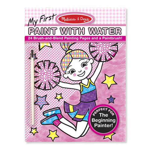 Cheerleaders & Flowers Paint with Water