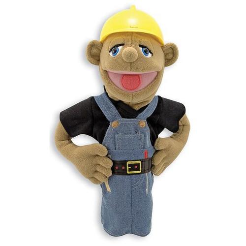 Construction Worker hand puppet (box)