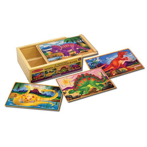Dinosaurs Puzzles in a Box