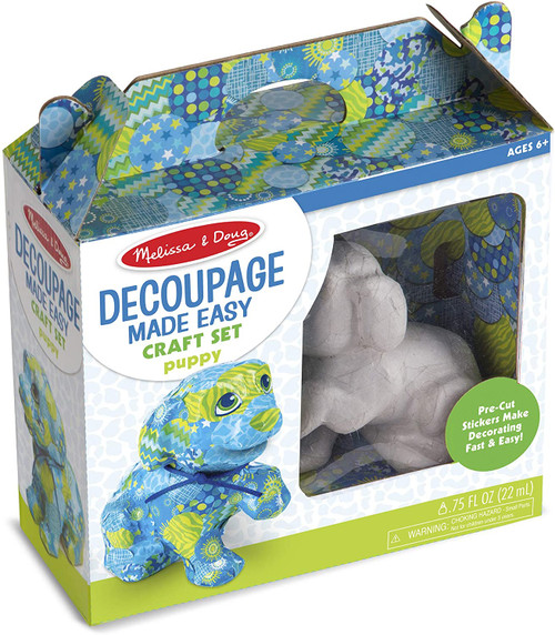Puppy Decoupage Made Easy
