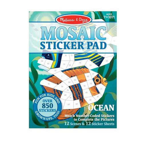 Ocean Mosaic Sticker Pad