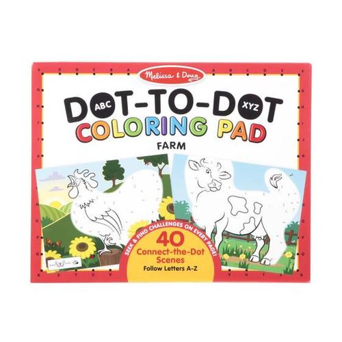 Farm ABC Dot-to-Dot