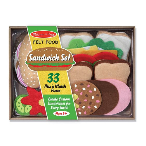 Felt Food Fun - Sandwich