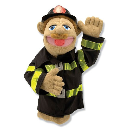 Firefighter hand puppet (box)