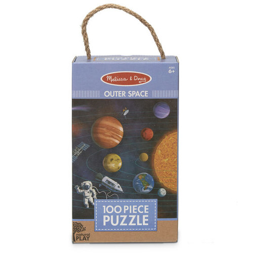 Outer Space Jigsaw Puzzle Green Start