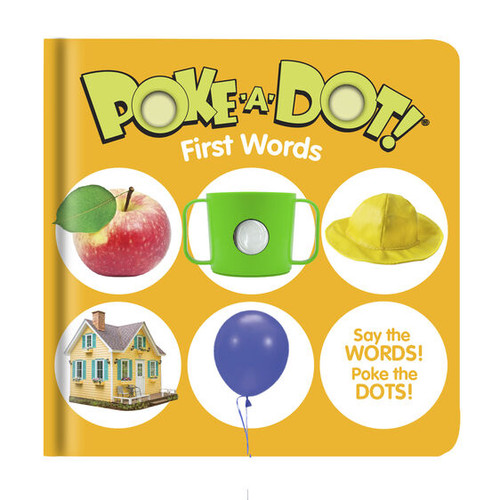 First Words Poke-A-Dot Book