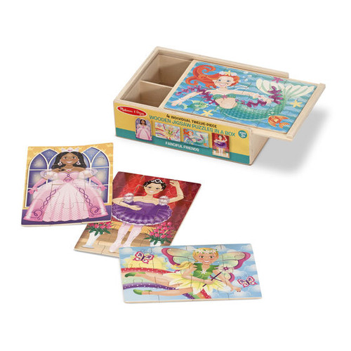 Fanciful Friends Puzzles in Box