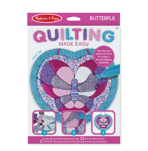 Heart Butterfly Quilting Made Easy