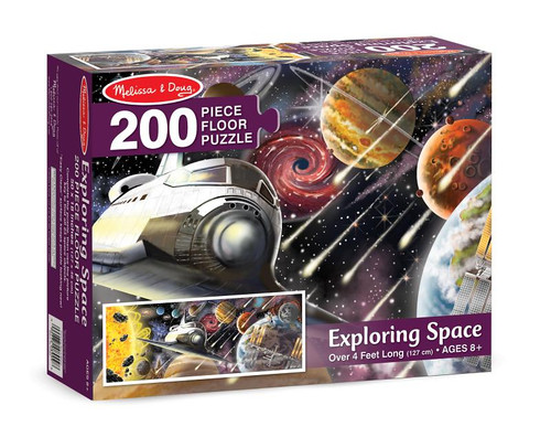 Exploring Space Floor Puzzle