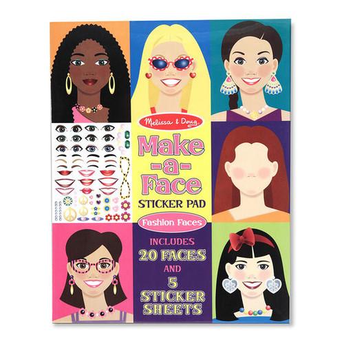 Make-A-Face Sticker Pad (Fashion)