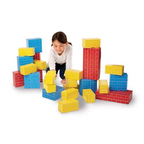 Jumbo Cardboard Blocks (24 pc)