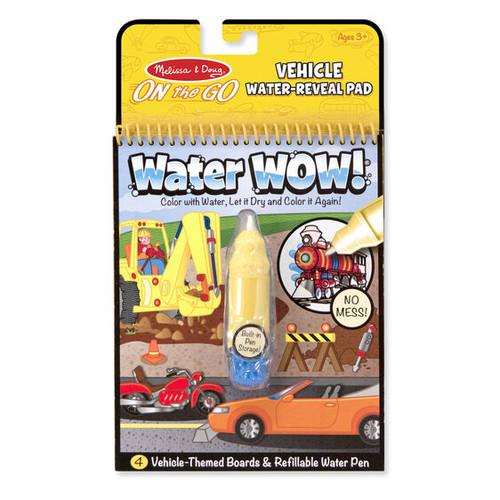Vehicles Water WOW Book