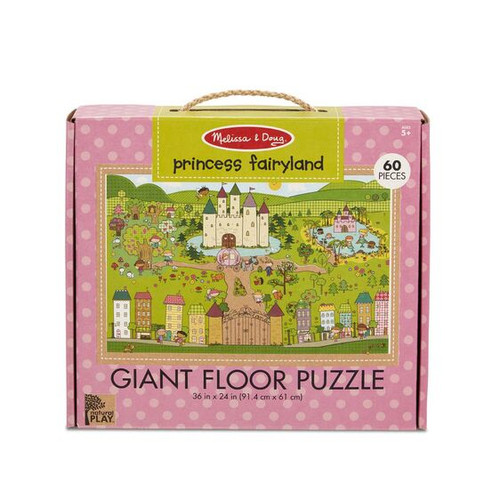 Princess Fairytale Floor Puzzle Green St