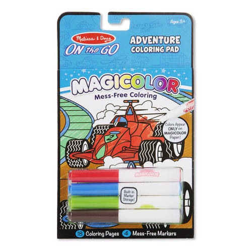 Adventure Magicolor Coloring Pad