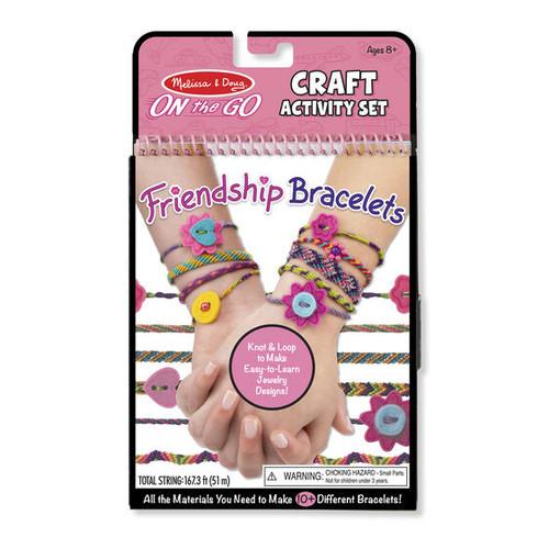 Friendship Bracelets craft activity set