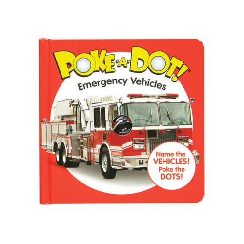 Emergency Vehicles Poke-A-Dot Book