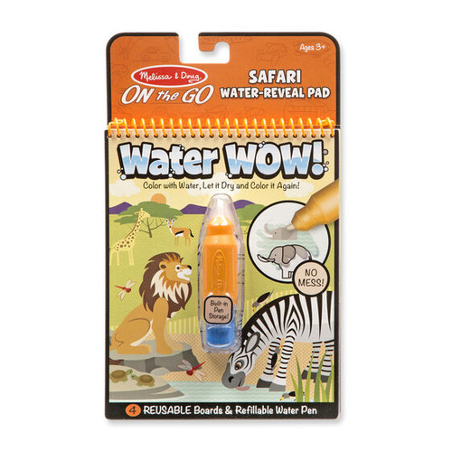 Safari Water WOW Book