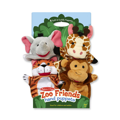 Zoo Friends Puppets
