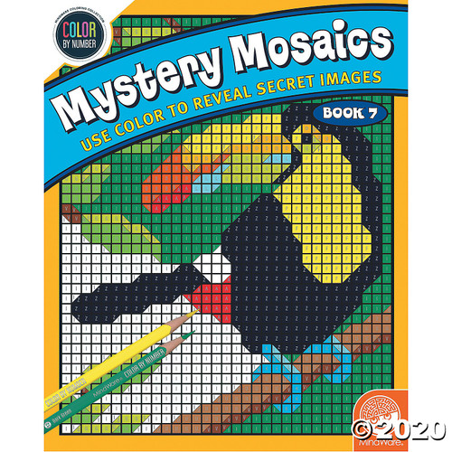 Image of Mystery Mosaics #7 cover art