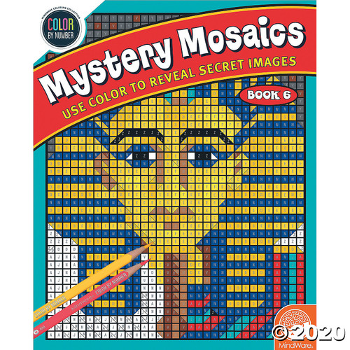 Image of Mystery Mosaics #6 cover art