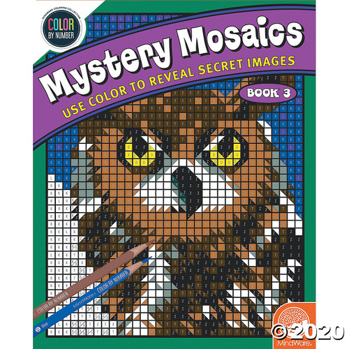 Image of Mystery Mosaics #3 cover art