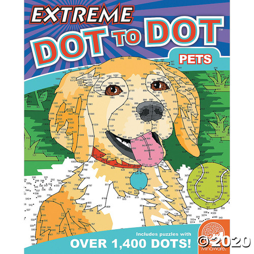 Image of Extreme Dot to Dot: Pets cover art