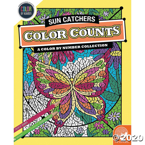 Image of Color Counts Sun Catchers Coloring Book cover image