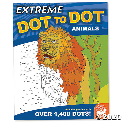 Image of Extreme Dot to Dot: Animals cover art