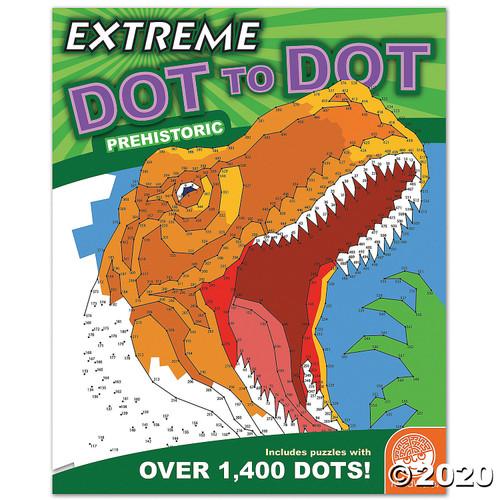 Image of Extreme Dot to Dot: Prehistoric cover art
