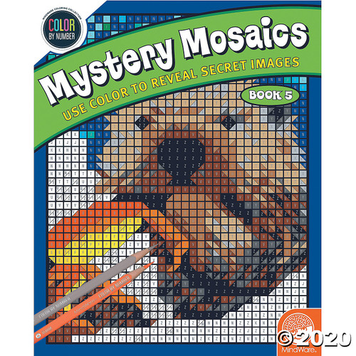 Image of Mystery Mosaics #5 cover art
