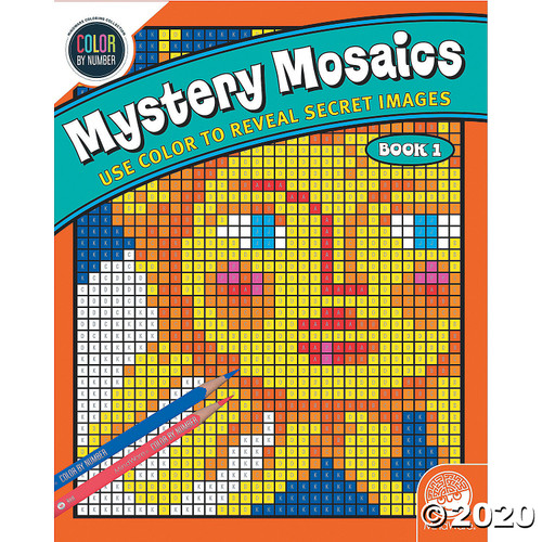 Image of Mystery Mosaics #1 cover art
