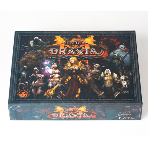 Box image of Legends of Draxia