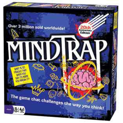 Image of MindTrap 20th Anniversary Edition packaging
