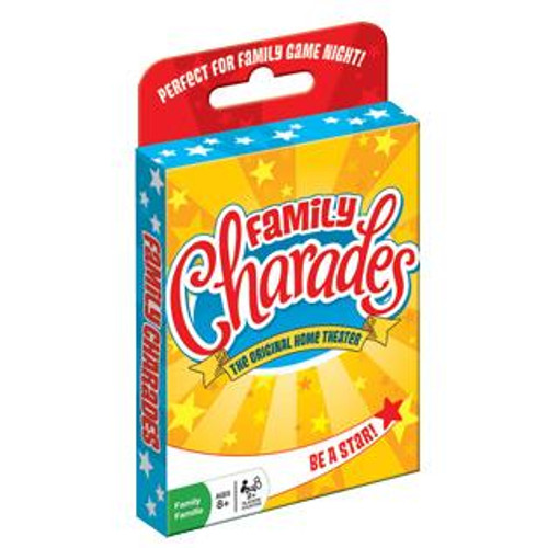 Image of Family Charades Card Game packaging